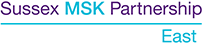 Sussex MSK P EAST LOGO