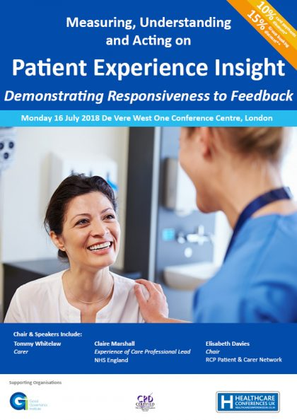 Patient Experience July 2018